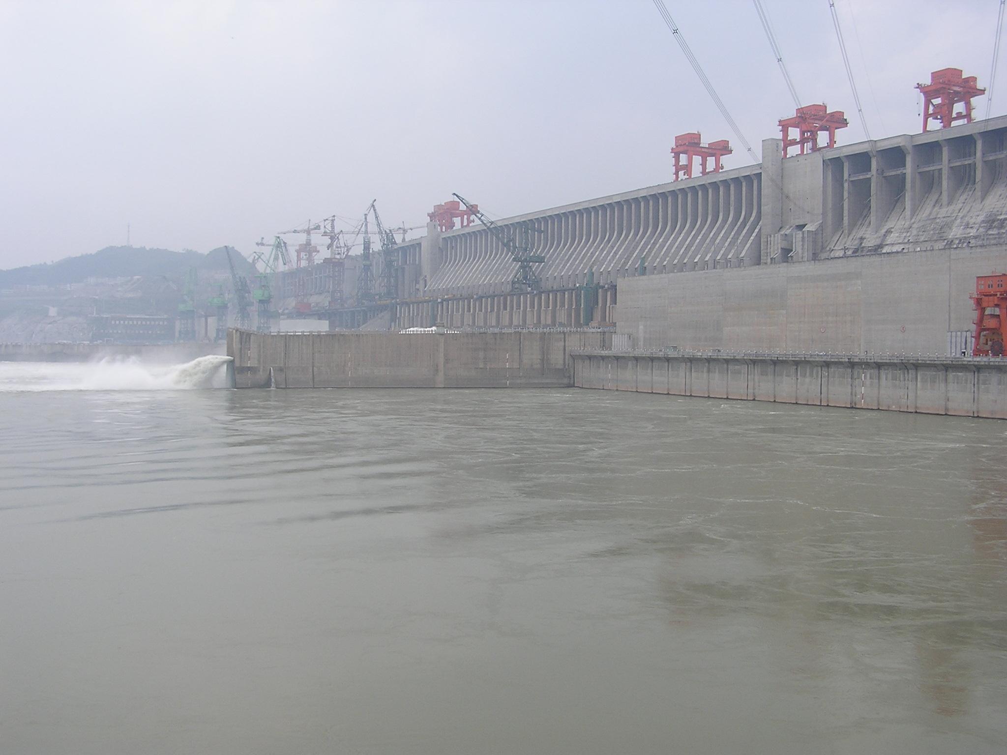 Фото строительства плотины три ущелья 5