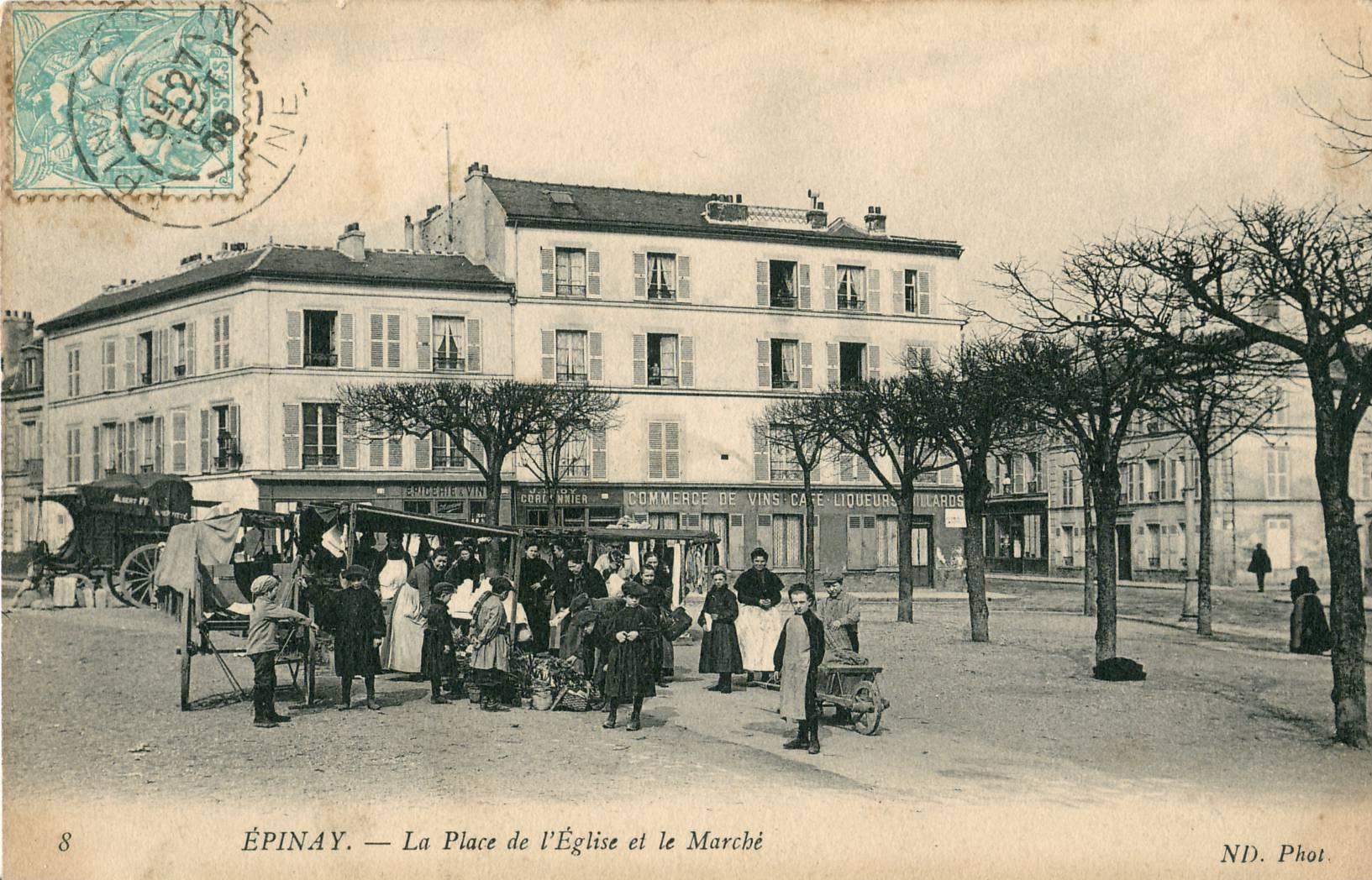 Place Du March Ef Bf Bd Du Vieux Centre Ville Nanterre