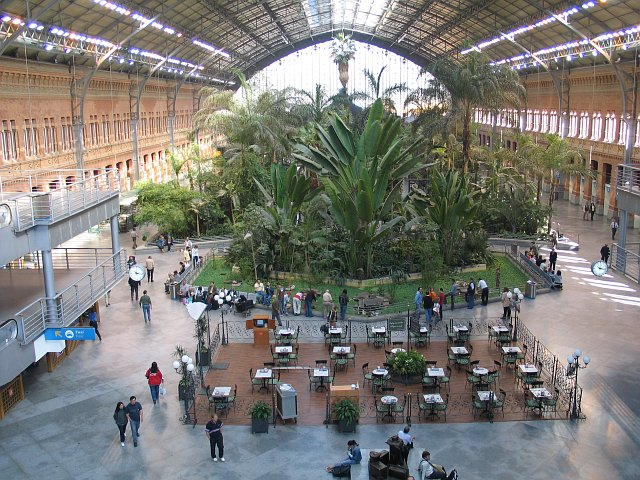 Madrid atocha - Jardin tropical atocha ...