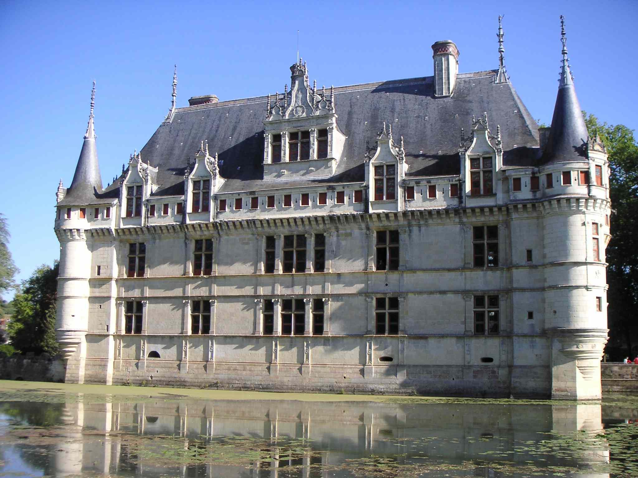 Chateau D 39 Azay Le Rideau