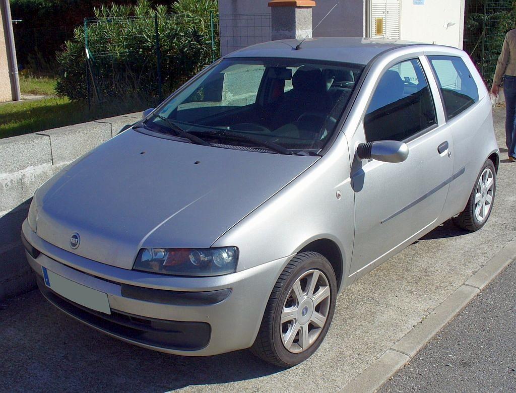 Model Fiat Punto 2005