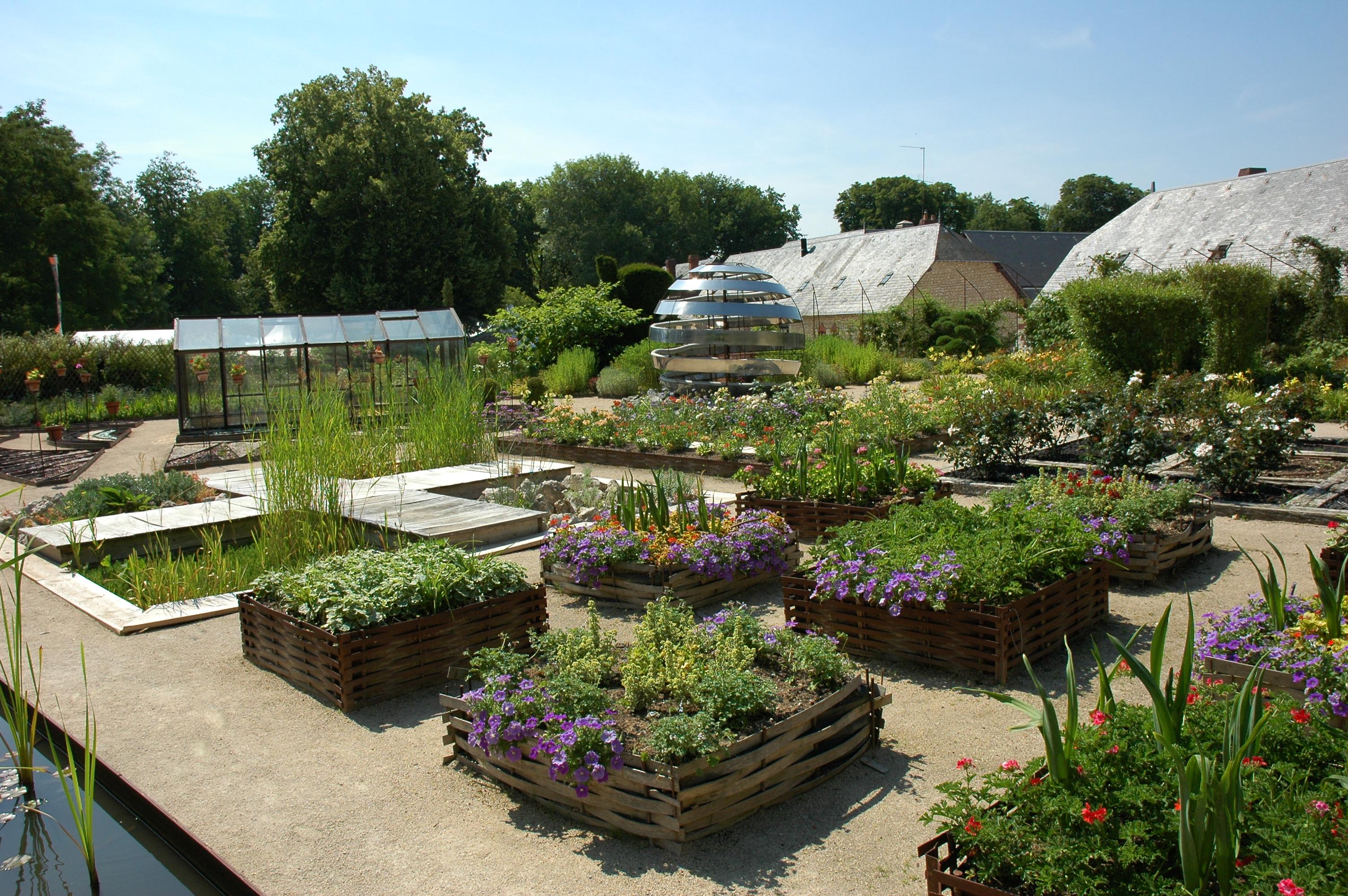 Conservatoire international des parcs et jardins de - Jardins chaumont sur loire ...