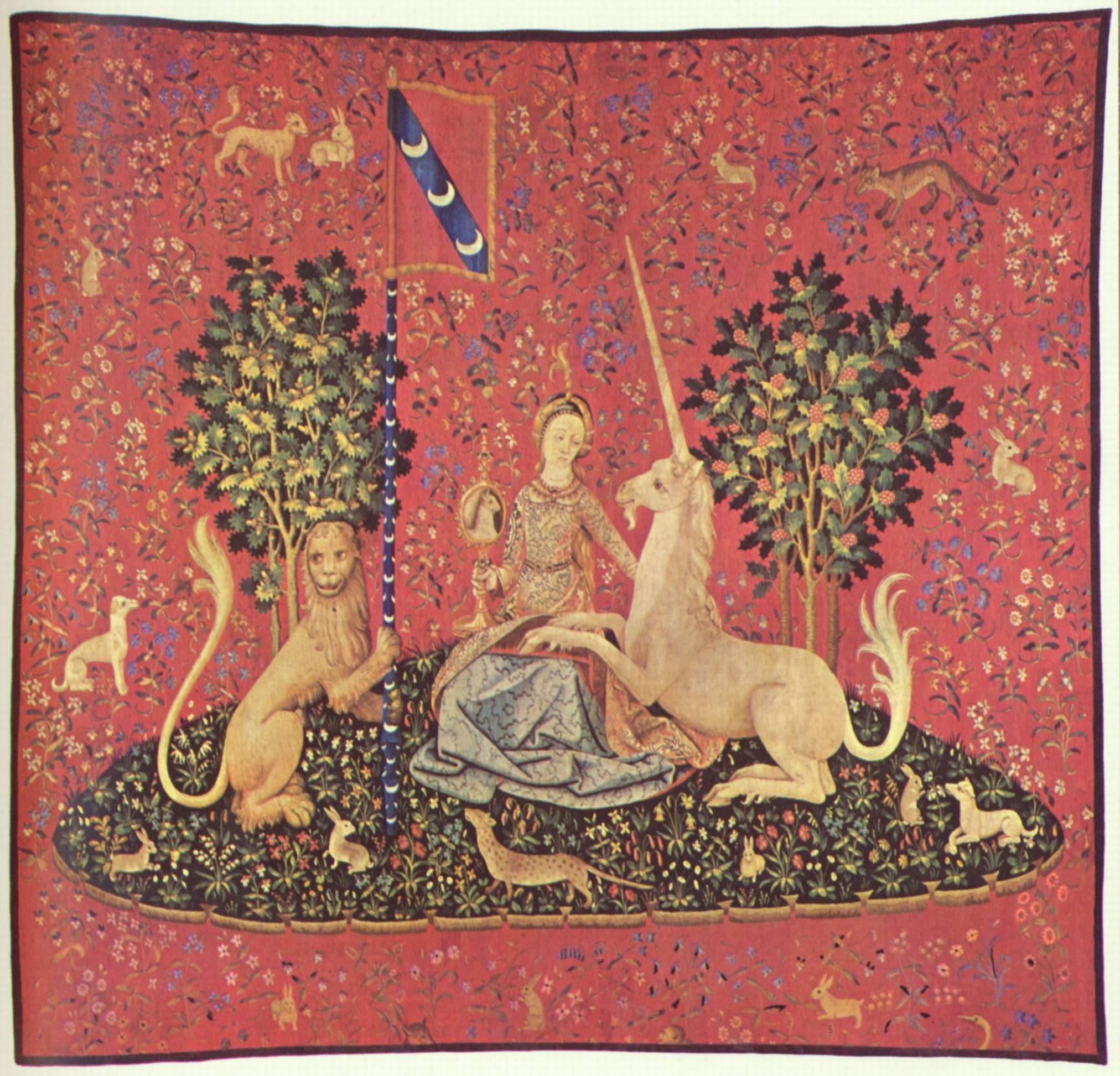 La dame a la licorne - Tapisserie dame a la licorne ...