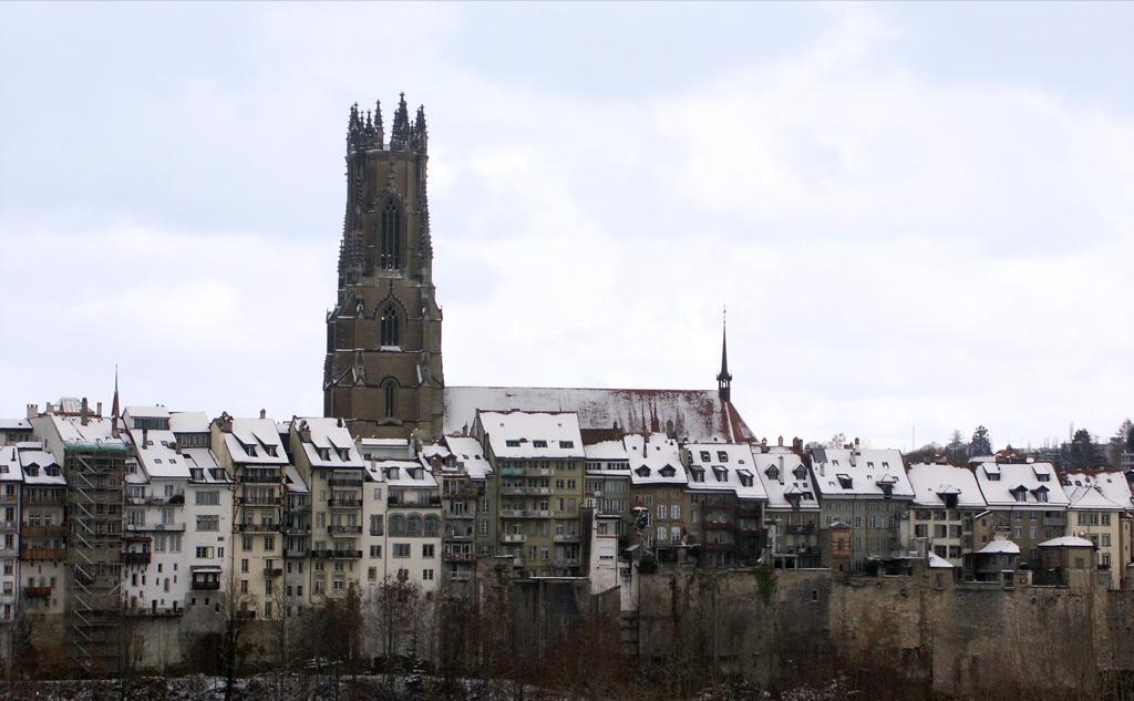 Fribourg ville - Ren des neige ...