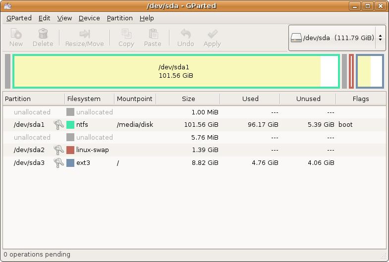 R paration disque dur partir de linux dd non reconnu - Reparer table de partition disque dur ...
