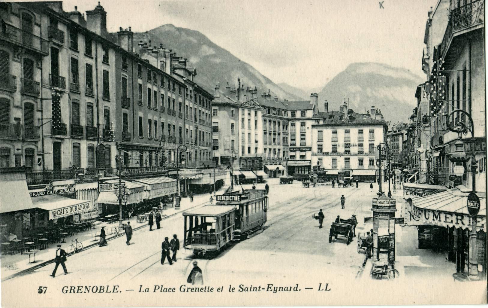 Ancien tramway de grenoble for Restaurant la cuisine grenoble