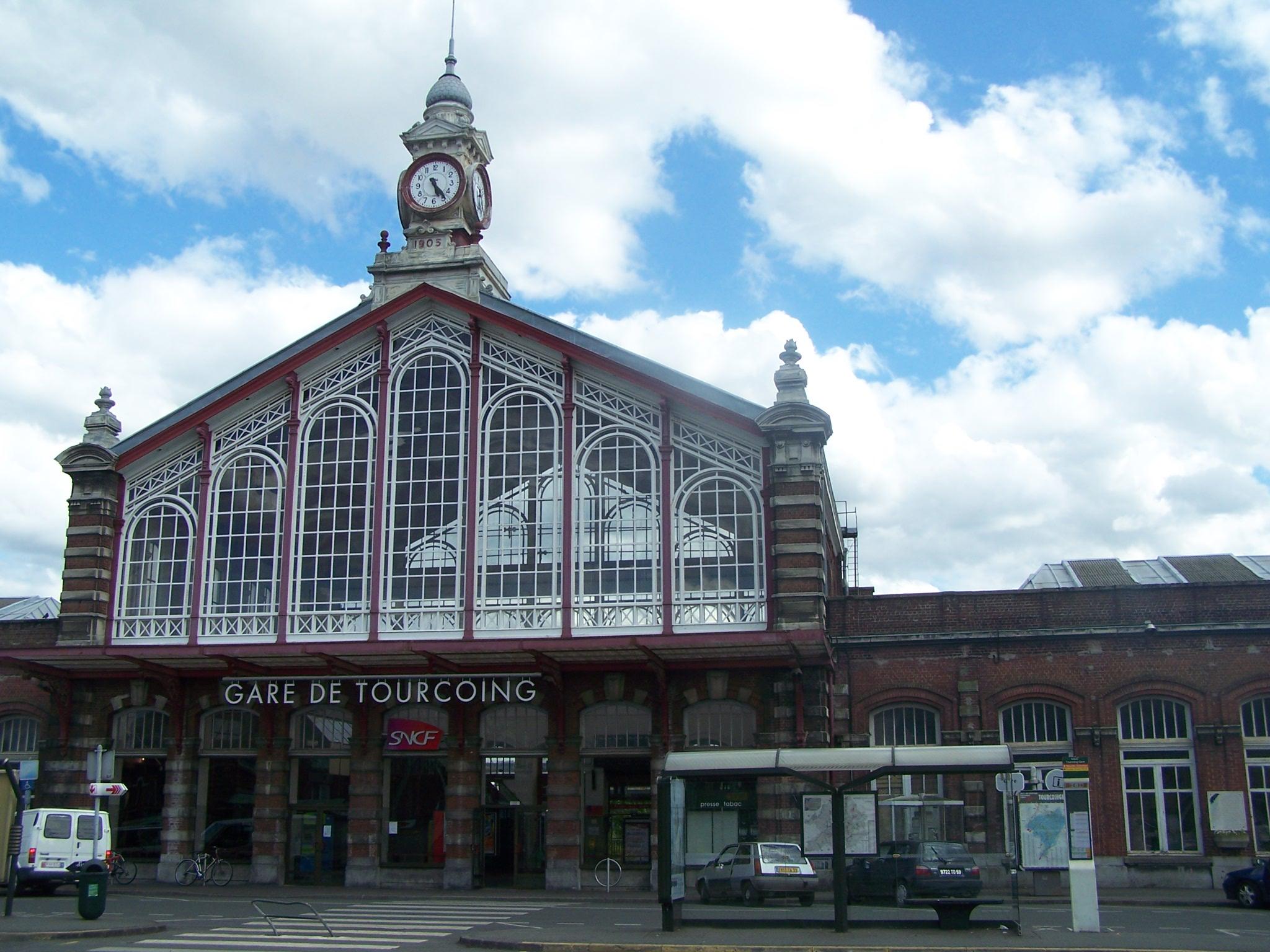 Gare de tourcoing for Horaire piscine tourcoing