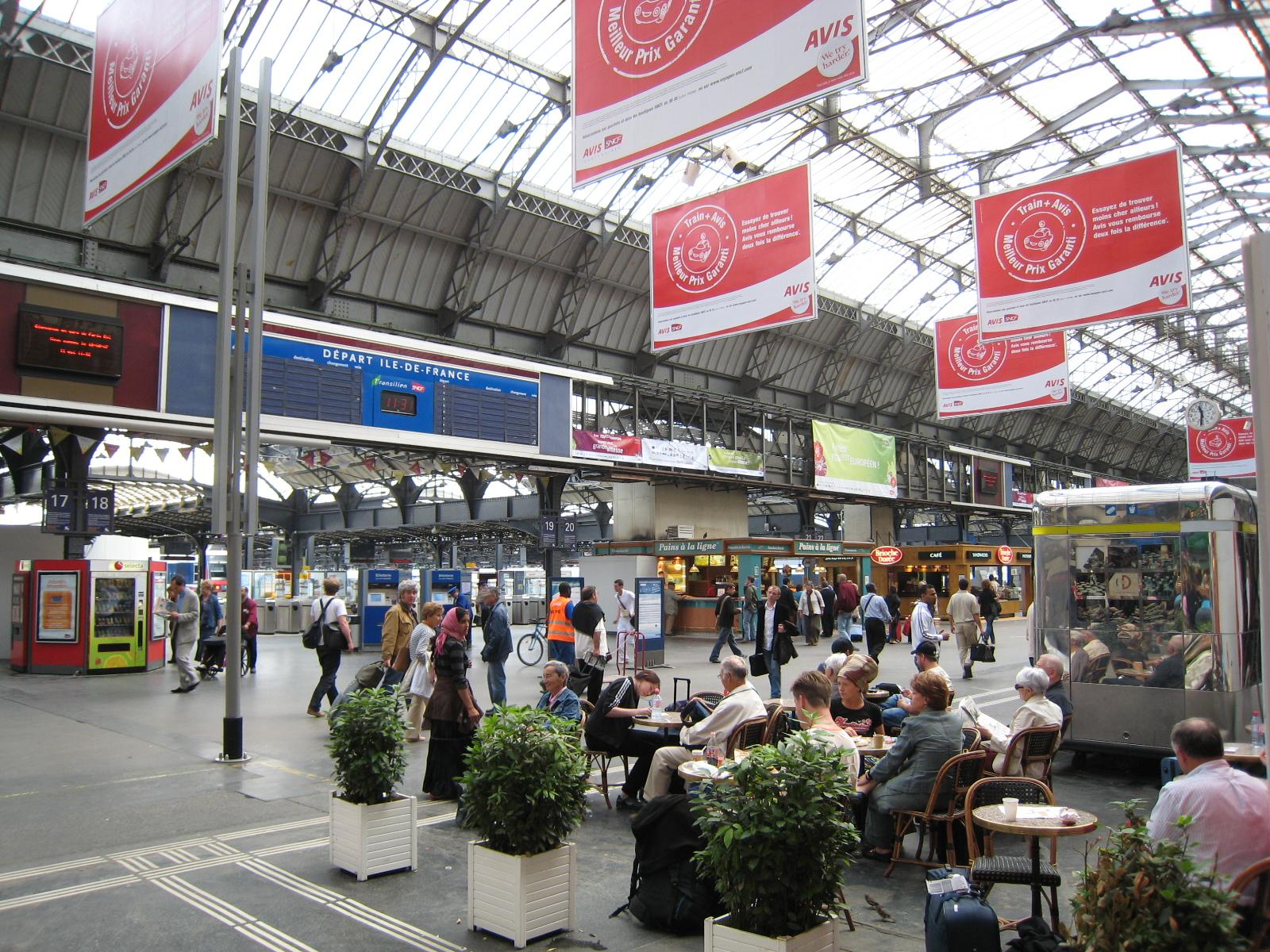 Gare de l 39 est for Plan interieur gare montparnasse