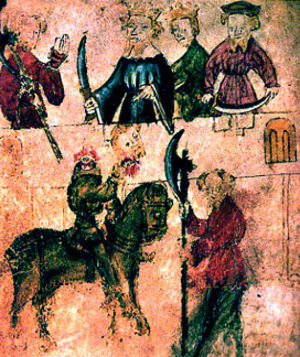 an analysis of the themes in sir gawain and the green knight a medieval romance Sir gawain and the green knight, while overtly an exciting and humorous romance, is at heart a deeply religious work through the series of tests and games in the poem, the poet demonstrates .