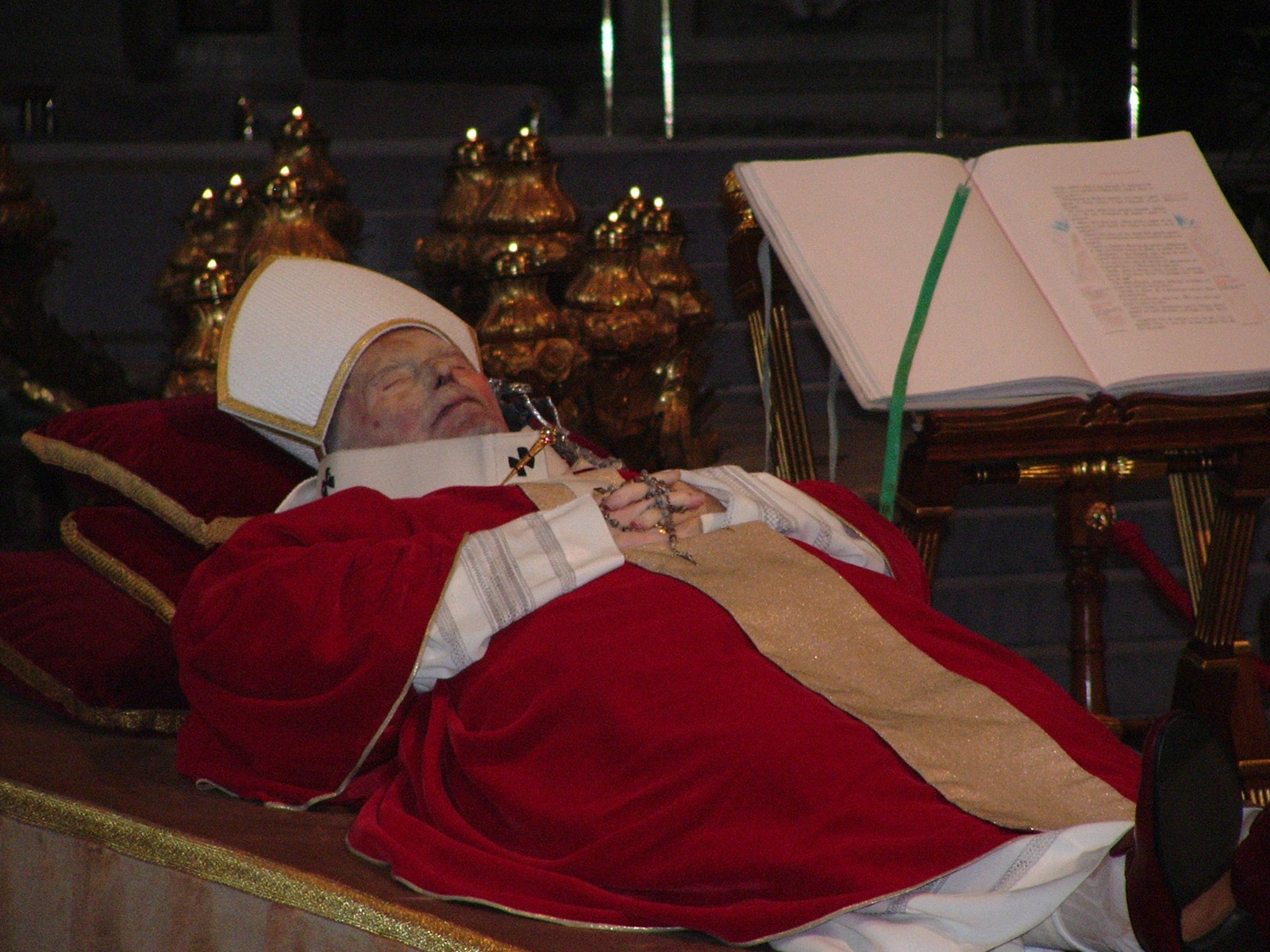 Corpo de João Paulo II
