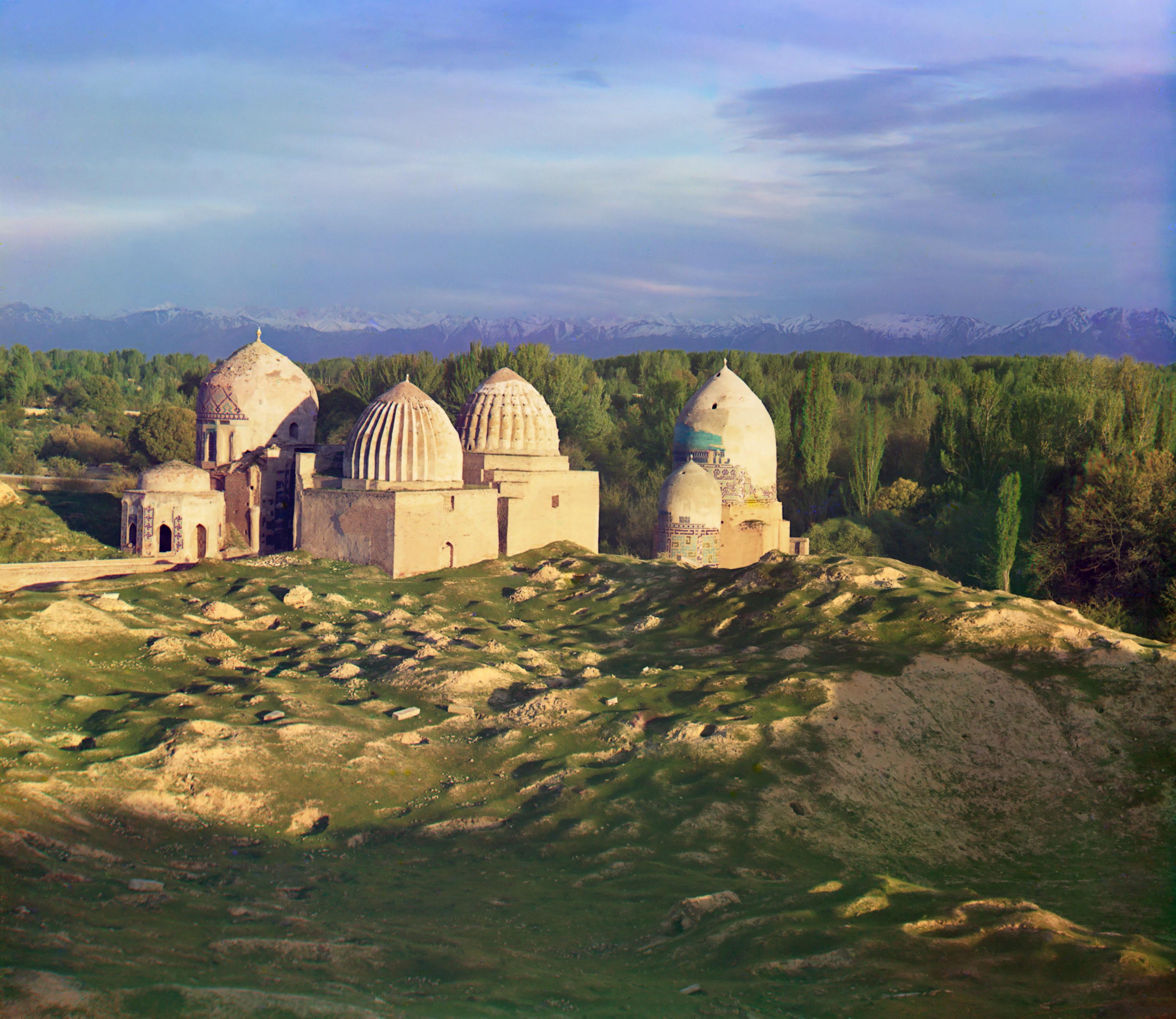 Самарканд был окружен оазисами и сельскохозяйственными районами