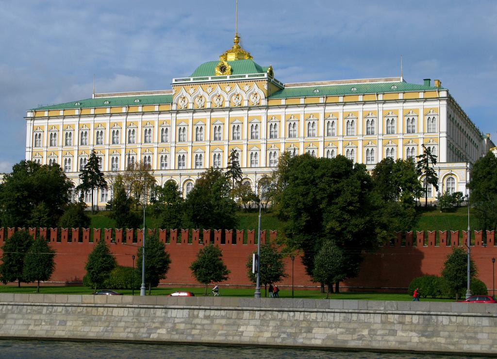 Grand palais du kremlin for Architecte grand palais