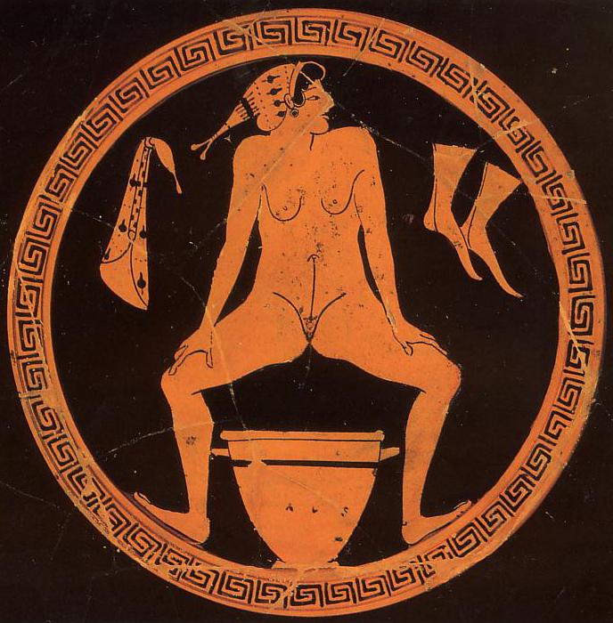 В древней Греции относились к сексу с особым внимаем. На этих вазах и