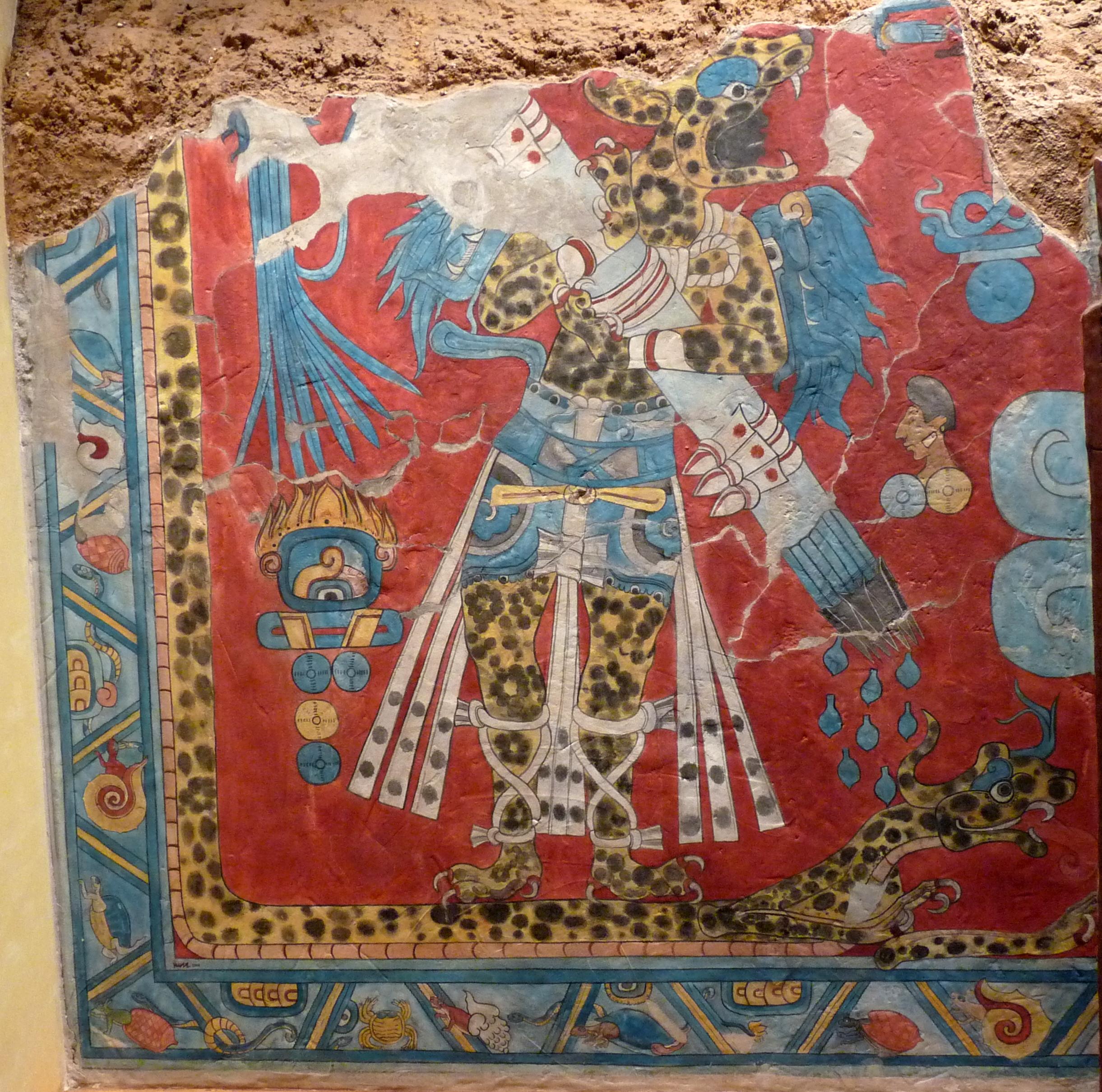 Cacaxtla for El mural de bonampak
