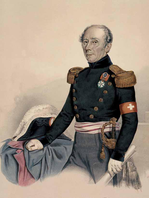 Он назван в честь Гийома-Анри Дюфура (фр.  Guillaume-Henri Dufour), швейцарского инженера и полководца.