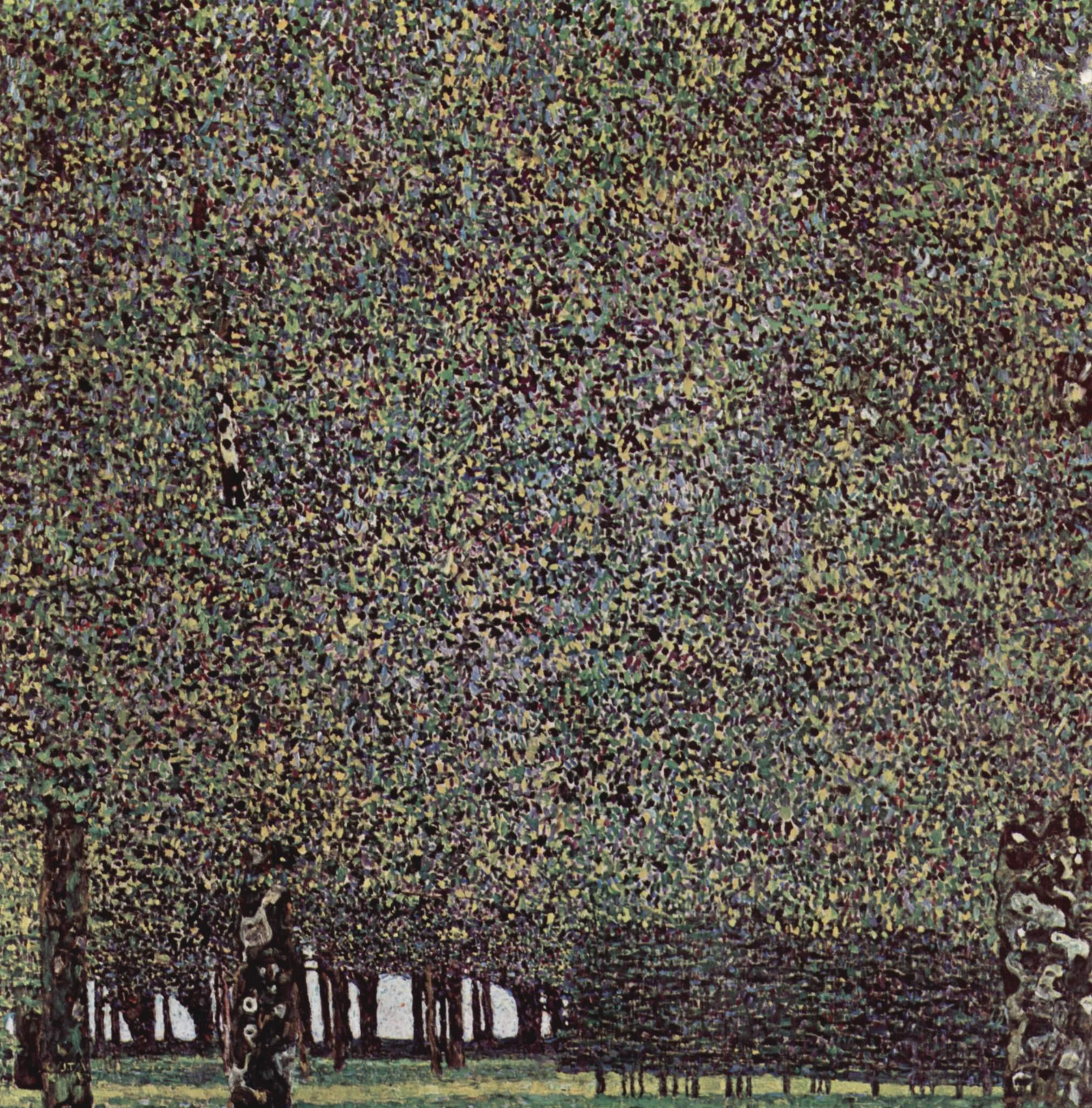 Le parc, Klimt