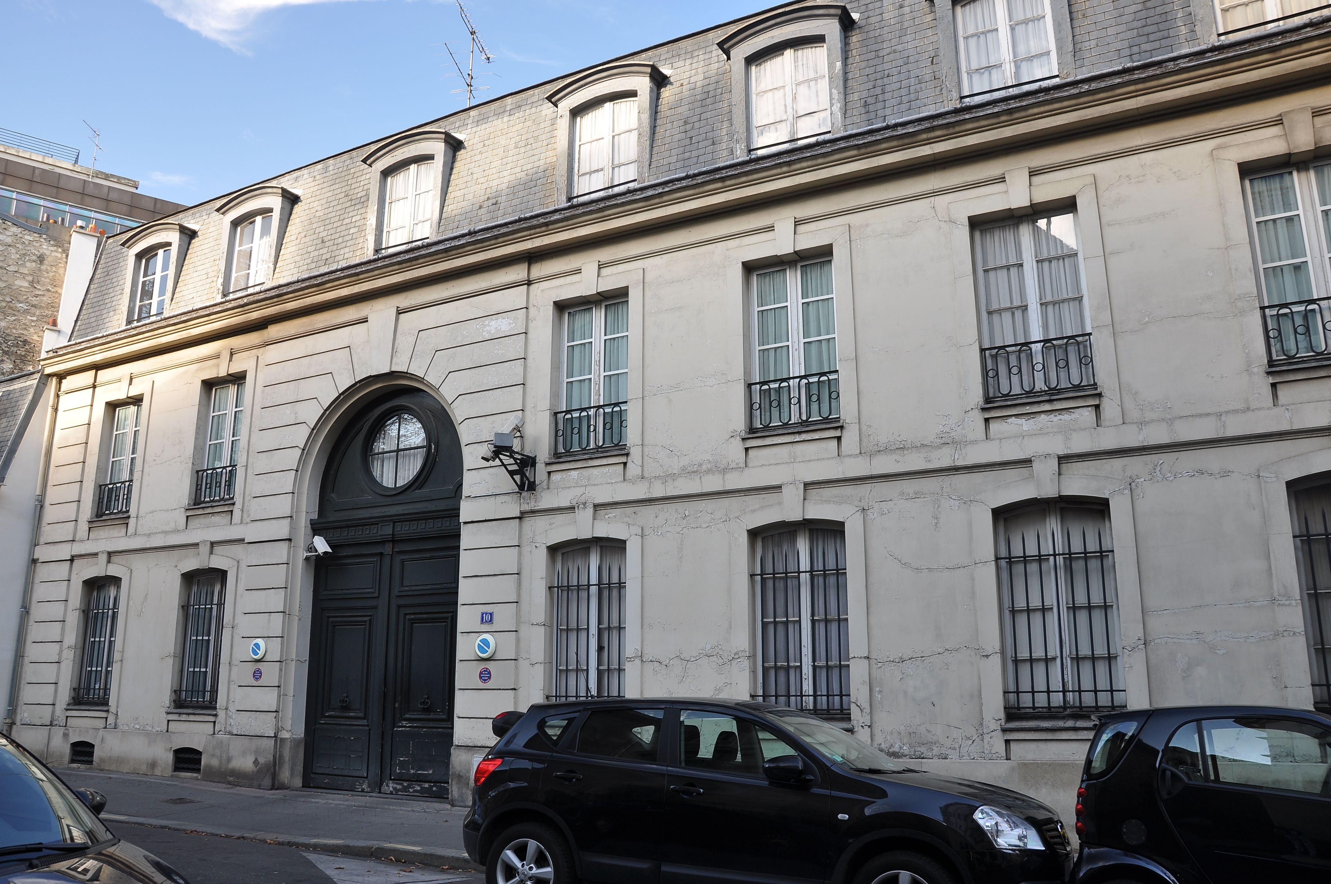 Liste des monuments historiques du 8e arrondissement de paris for Liste des hotels paris