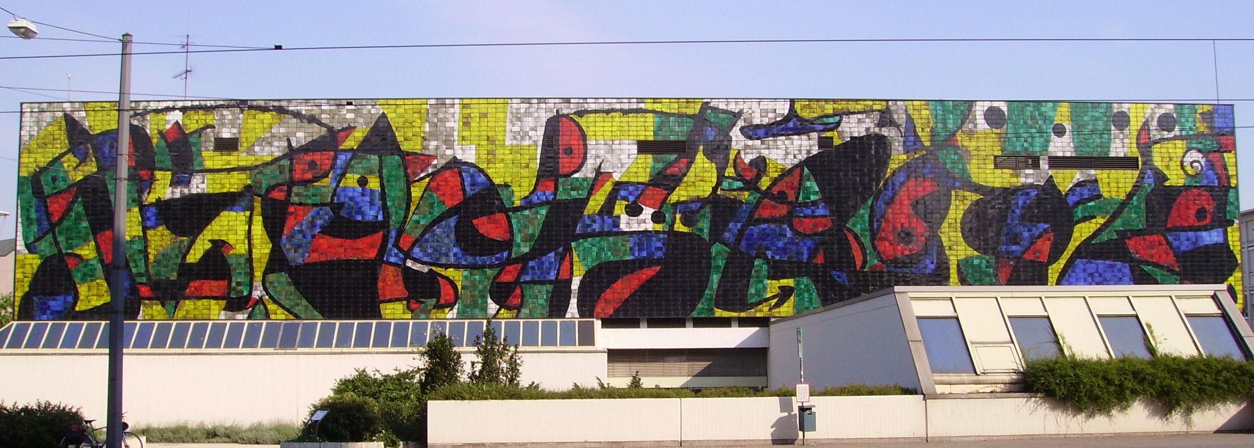 Murs de c ramique mir for Ecole d art mural
