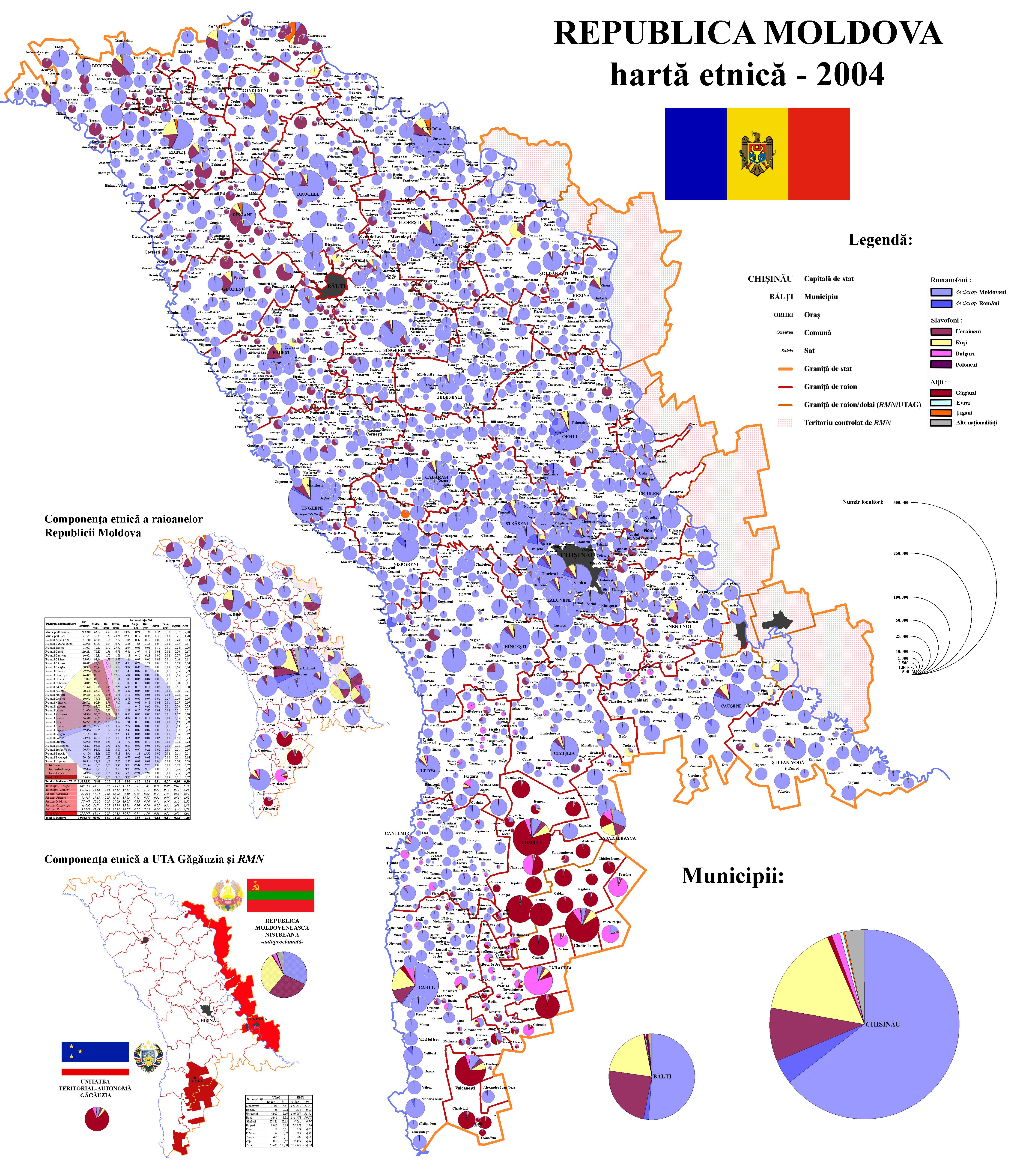 D mographie de la r publique de moldavie - Bureau de service national du lieu de recensement ...