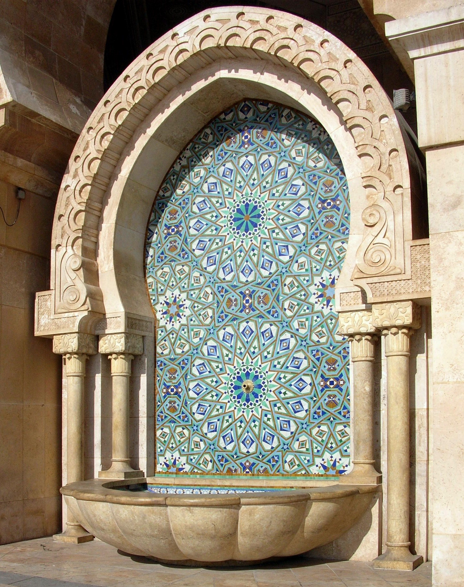 Mosquee hassan ii for Mosquee hassan 2 architecture