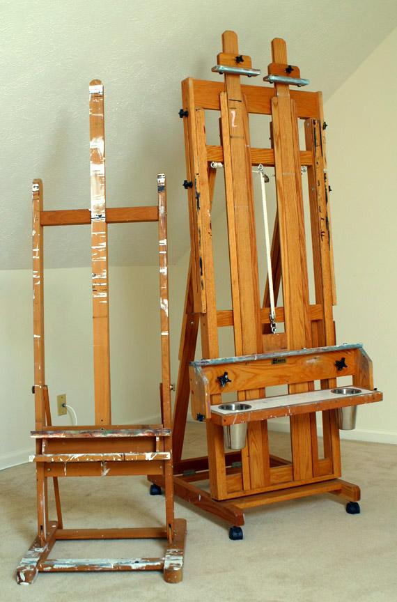 chevalet peinture. Black Bedroom Furniture Sets. Home Design Ideas