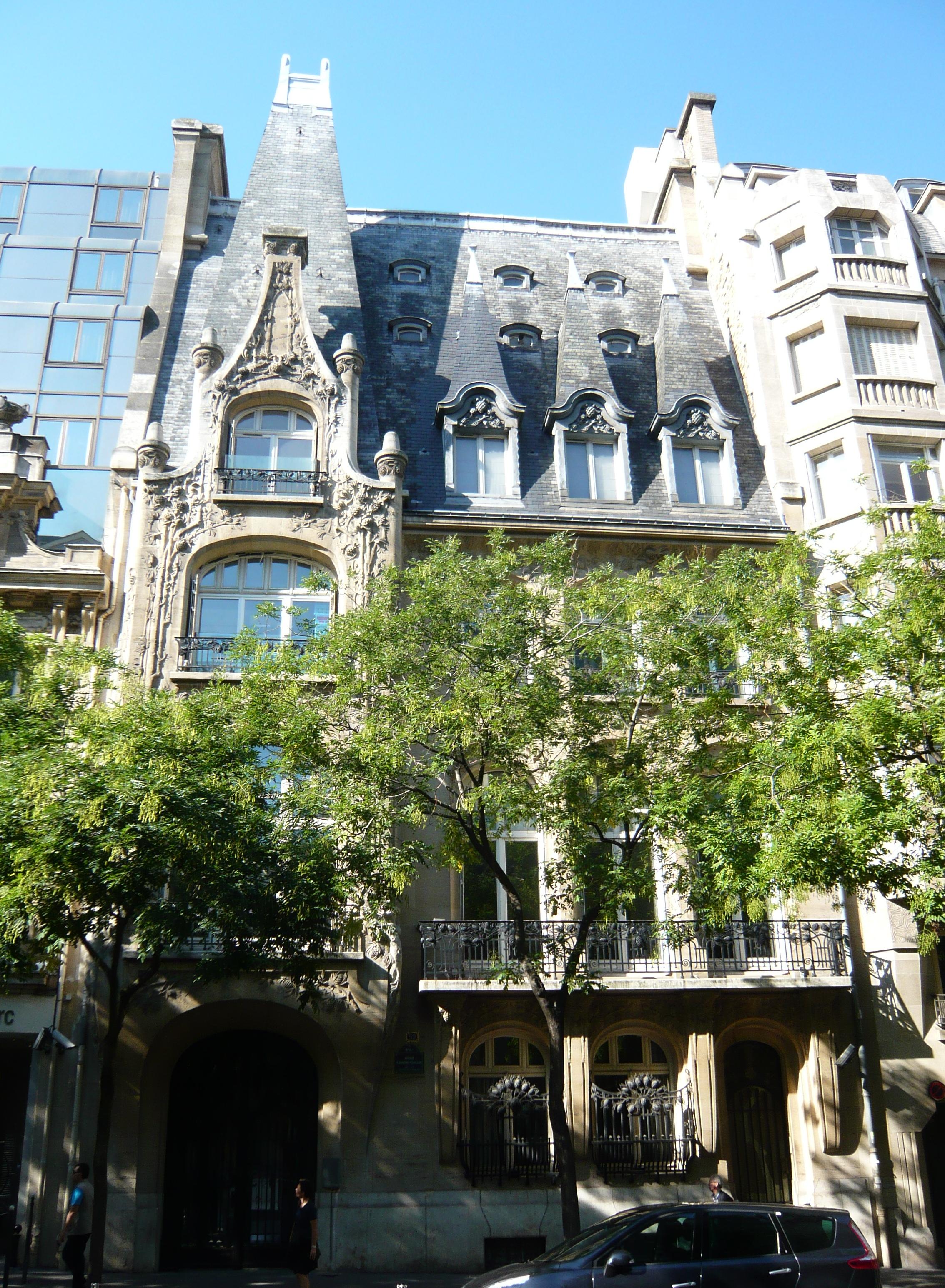 Liste des monuments historiques du 16e arrondissement de paris for Liste des hotels a paris