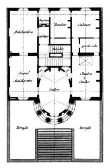 Architecte d 39 int rieur for Plan architecte chambre hotel