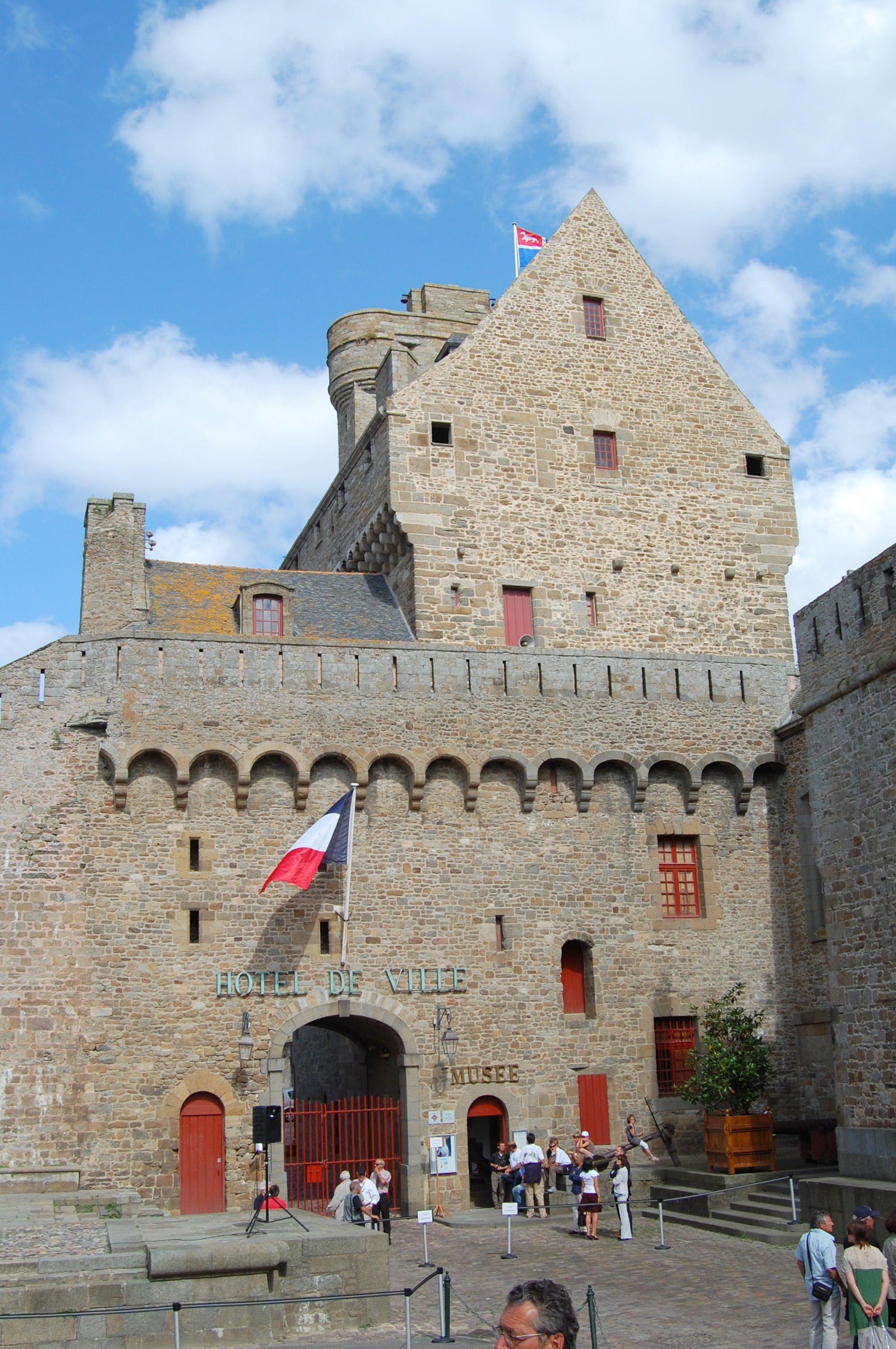 Ch teau de saint malo for Hotels saint malo