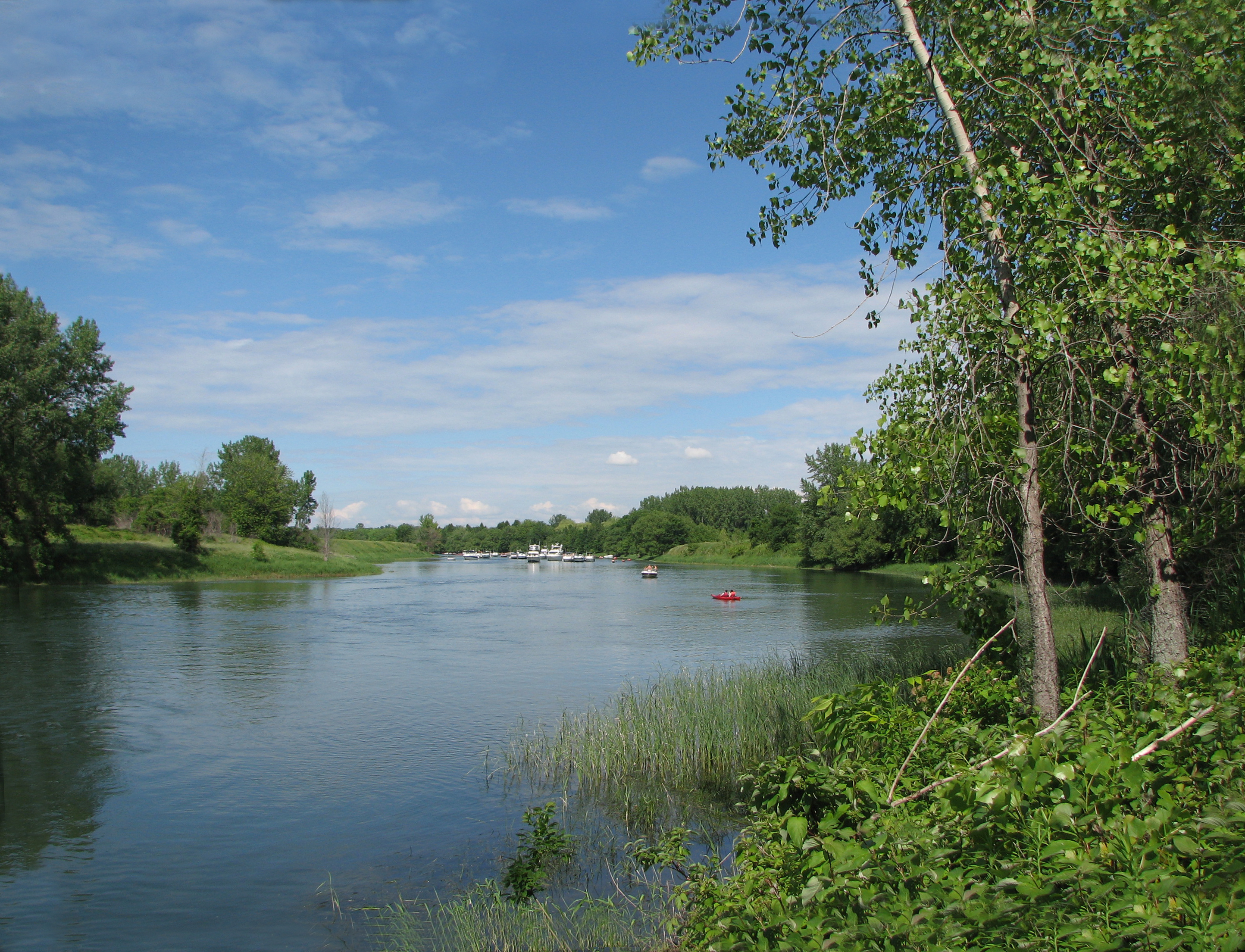 Parc national des les de boucherville for Club piscine longueuil