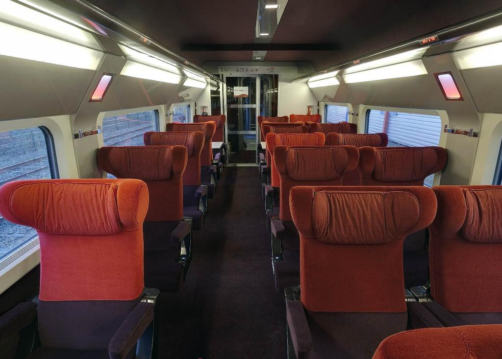 Thalys for Interieur paris premiere
