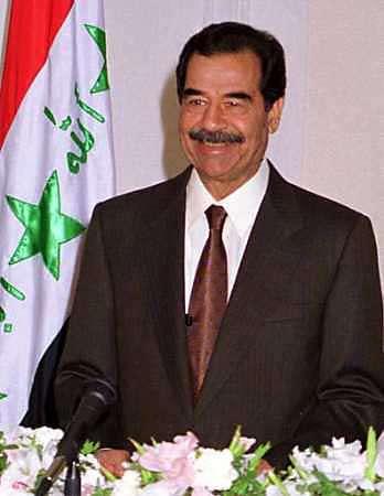 Ambasade Des --[FRA]-- Iraq,_Saddam_Hussein_(222)