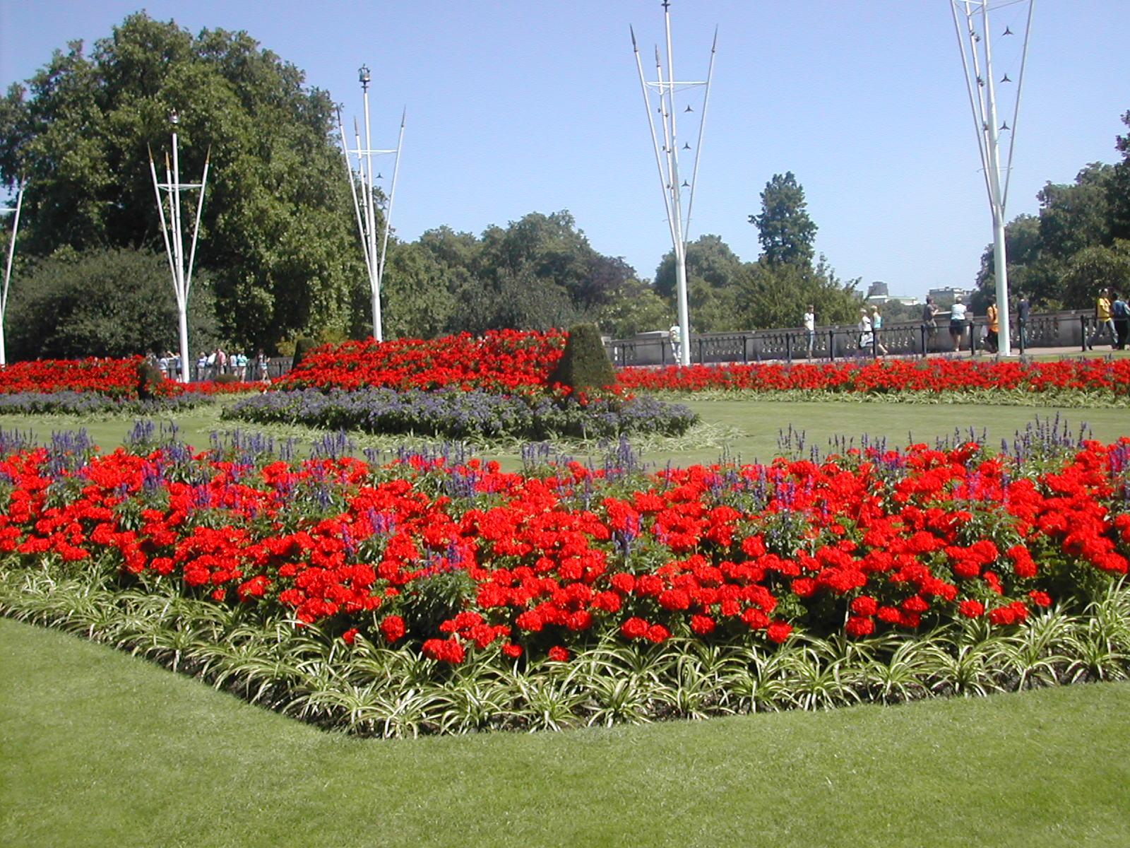 Palais de buckingham for Circuit jardins anglais