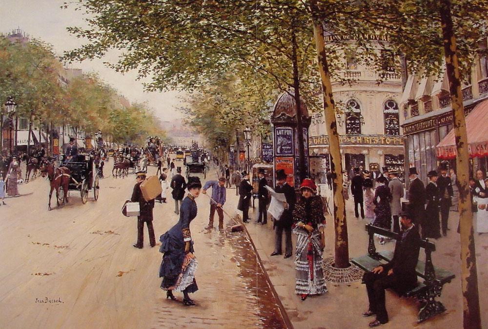 HIDA : le peuple au XIXe s. ; votre aide SVP ! Jean_B%C3%A9raud_Boulevard_des_capucines