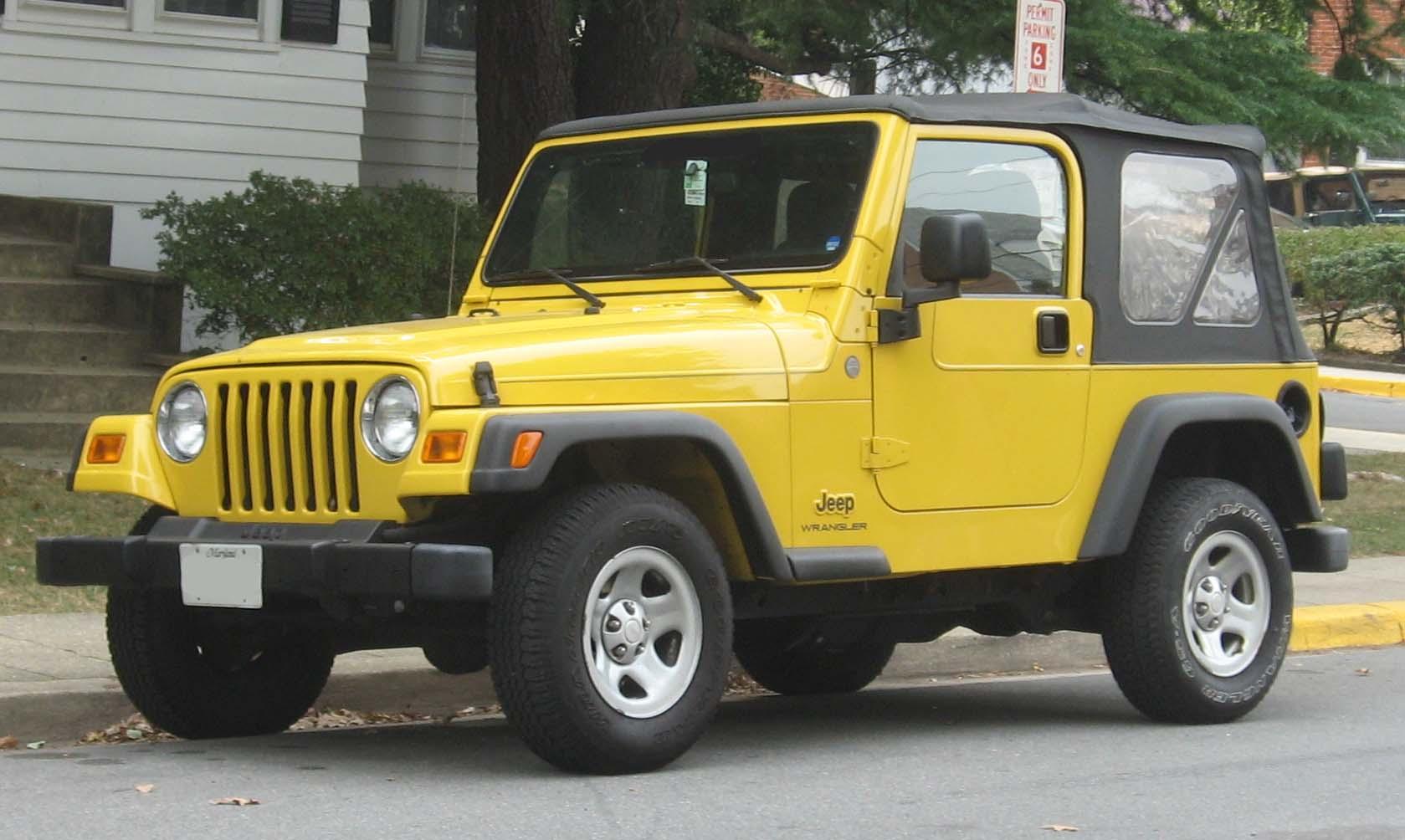 Types Of Jeeps >> Jeep Wrangler