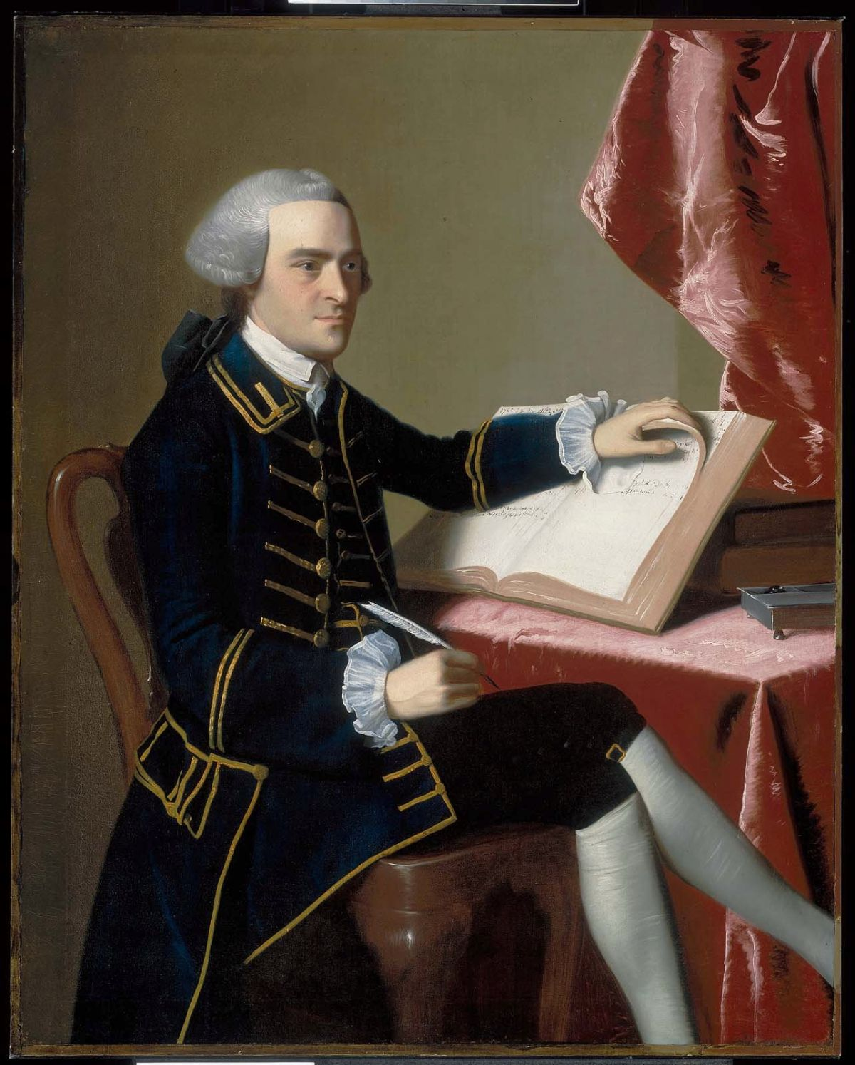 john copley and benjamin west John singleton copley about the time of john's birth, to the west indies there it earned unqualified praise from his compatriot benjamin west.