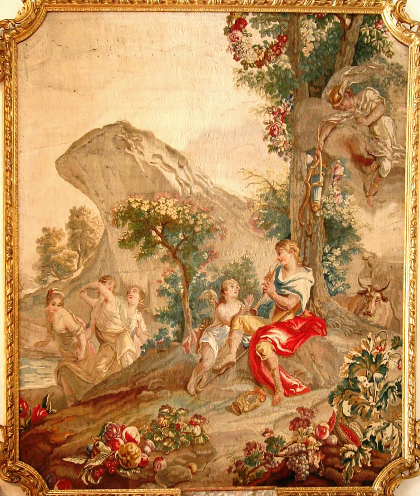 Tapisserie d 39 aubusson for Peindre de la tapisserie