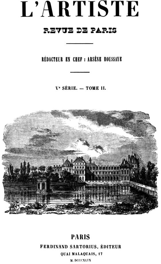 L'Artiste, revue du XIXe siècle