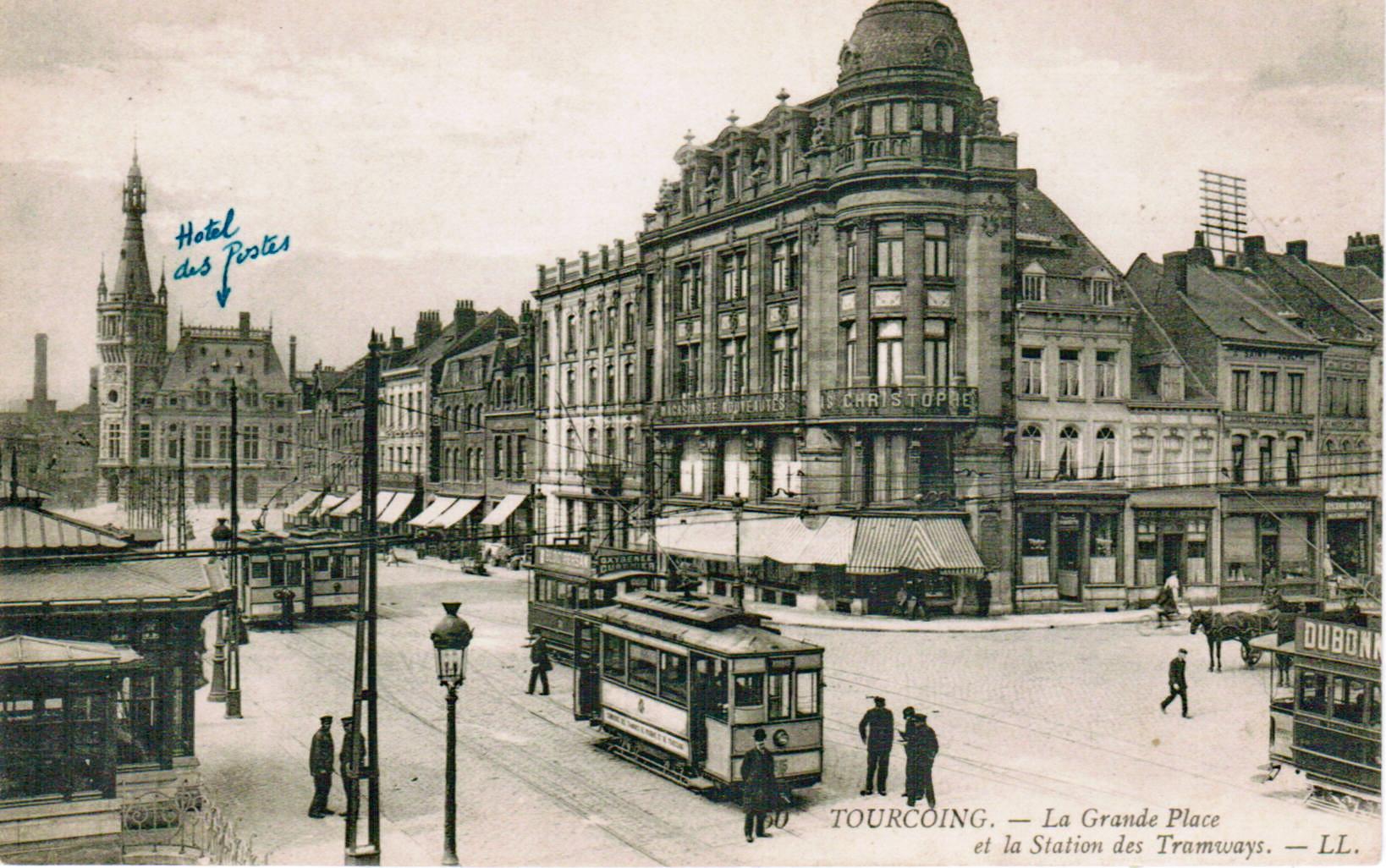 Tramway de lille - Place du travail roubaix ...