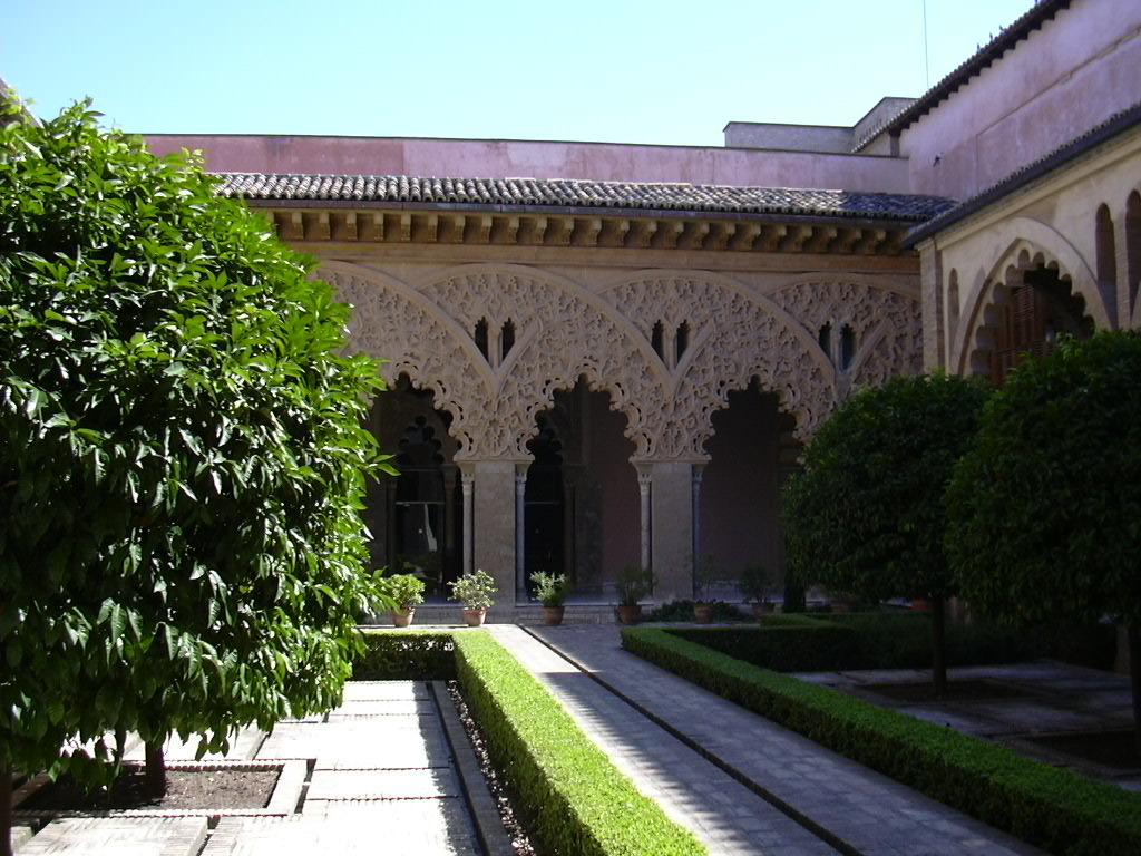 Patio for Jardin hispano mauresque