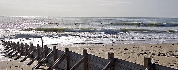 spots de surf de l ile de re