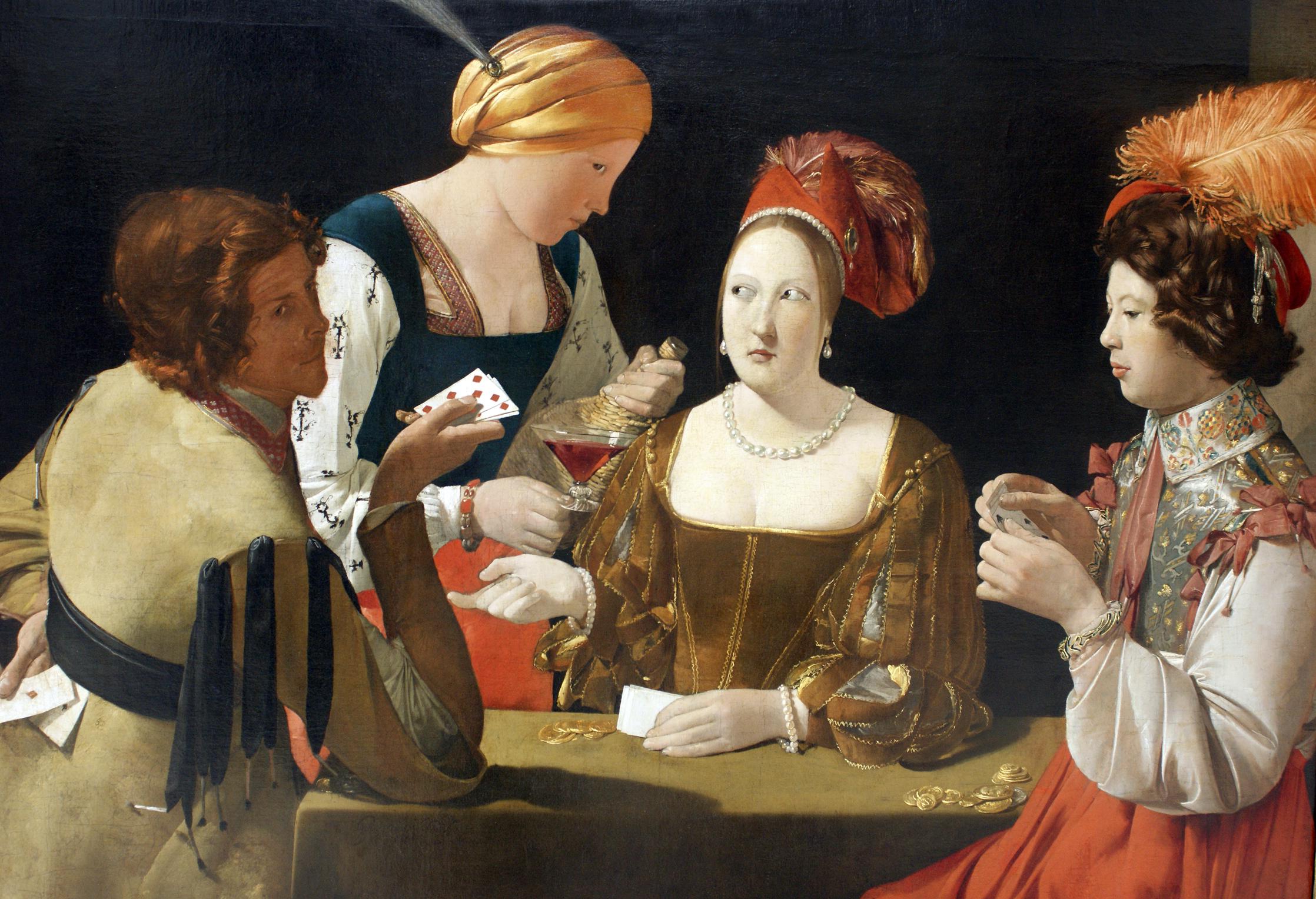 O Batoteiro com o Ás de Ouros ― Georges de La Tour, 1635