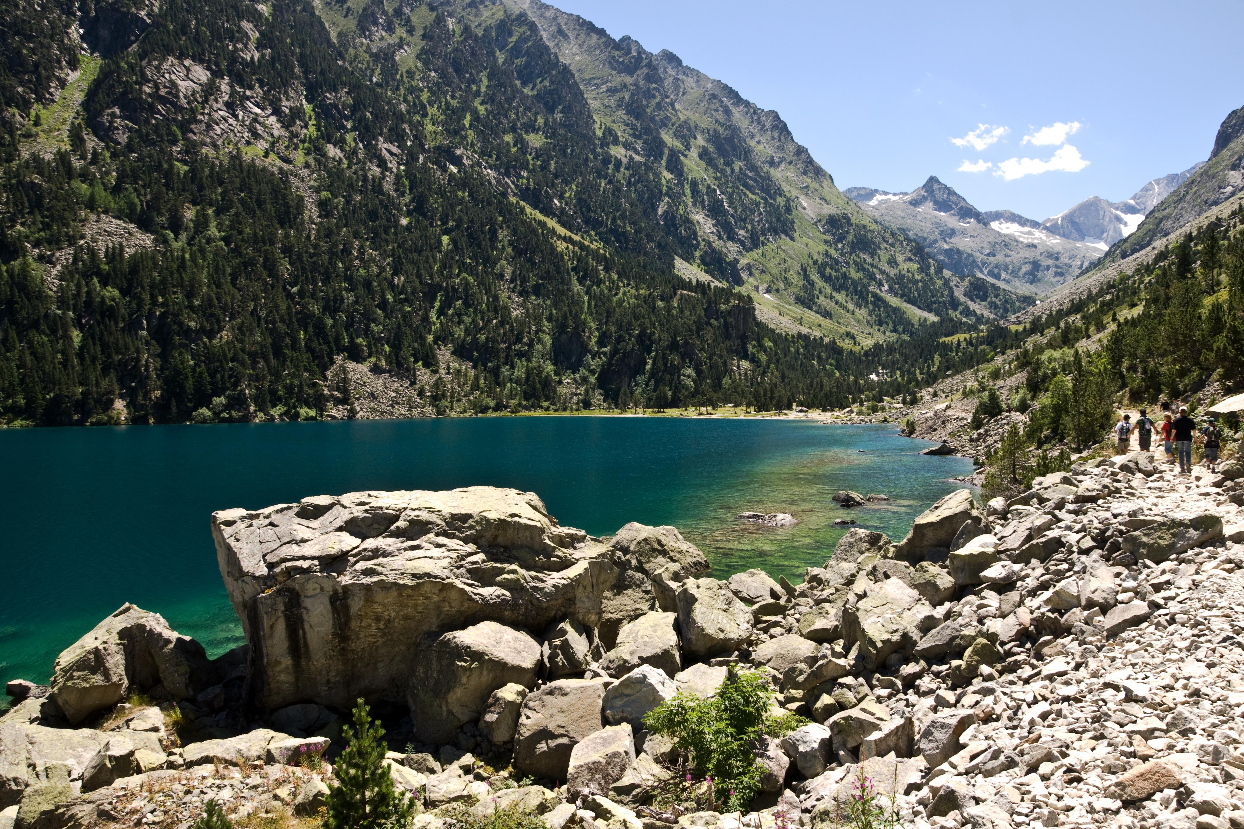 Lac de gaube - Lac de gaube ...