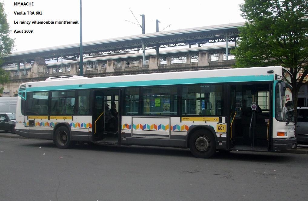 Ligne de bus ratp 601 - Ligne 118 bus ...
