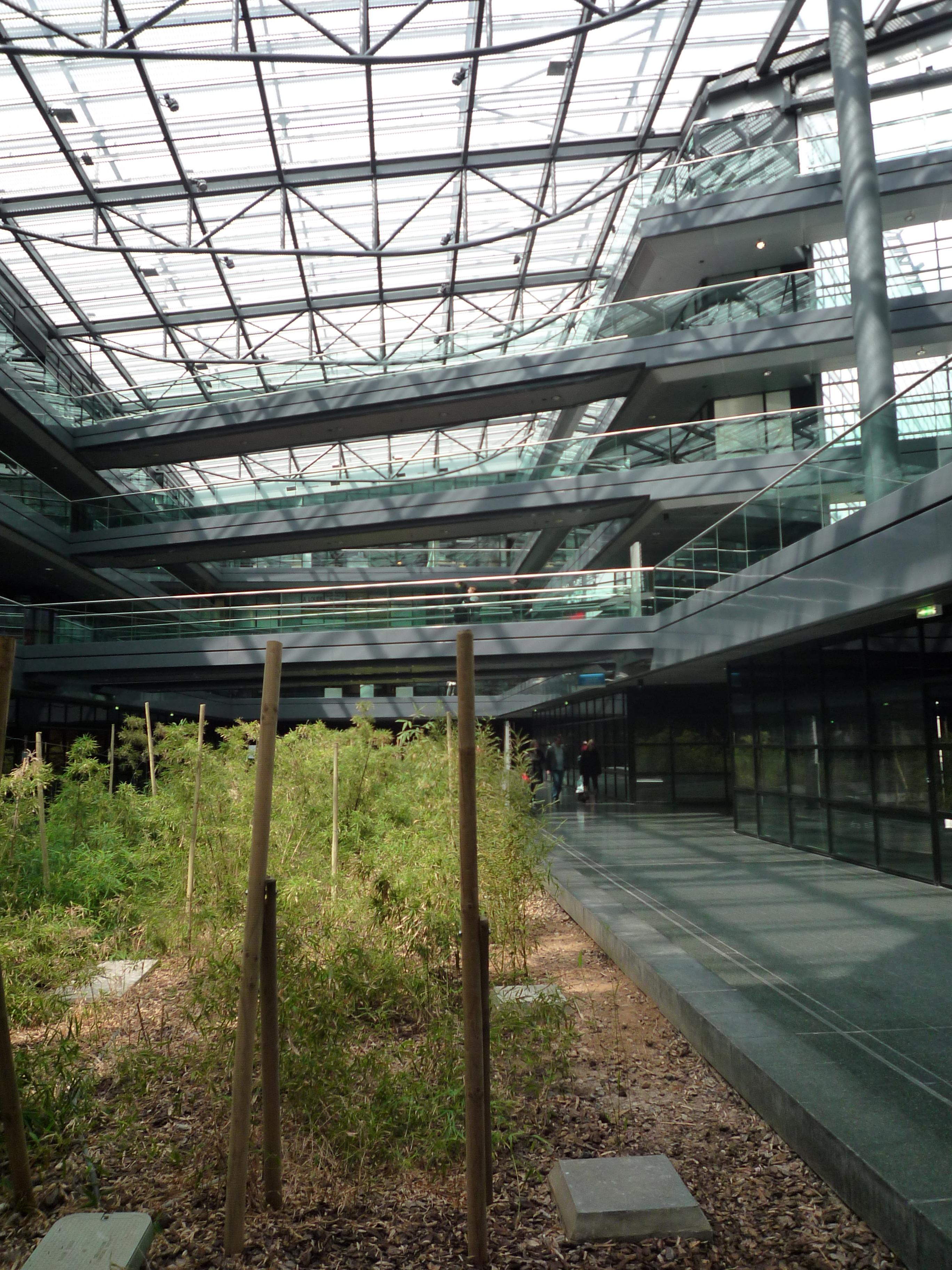 Le centre commercial euralille for Atrium coeur
