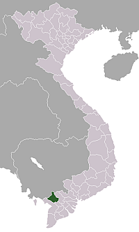 Location de la An Giang