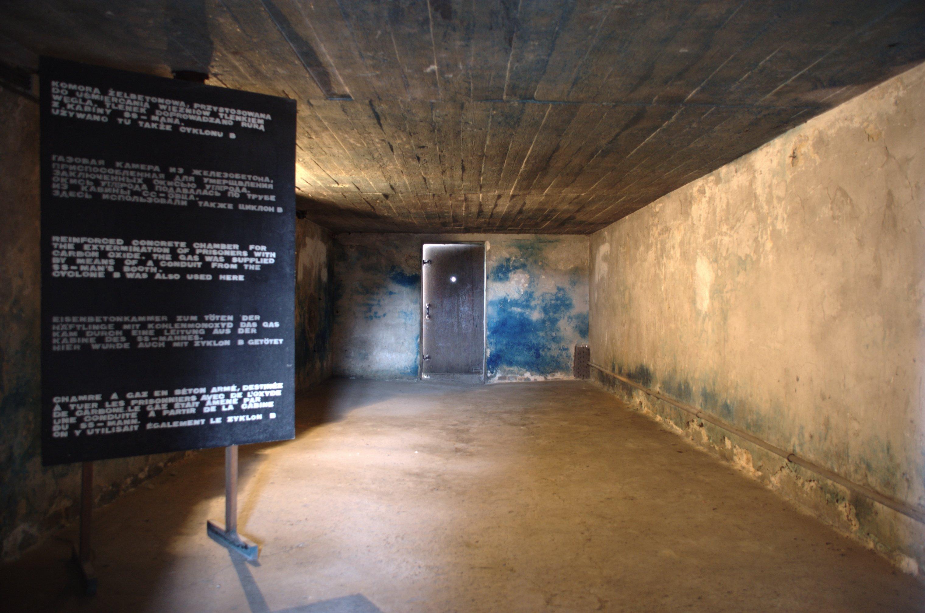 Chambre a gaz for Auschwitz chambre a gaz