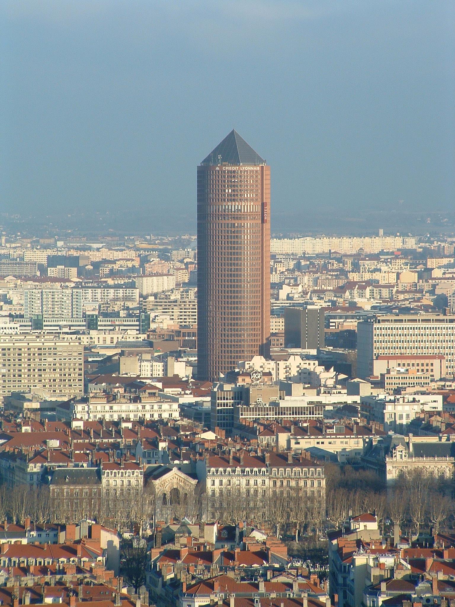 Restaurant Panoramique Tour Lyon