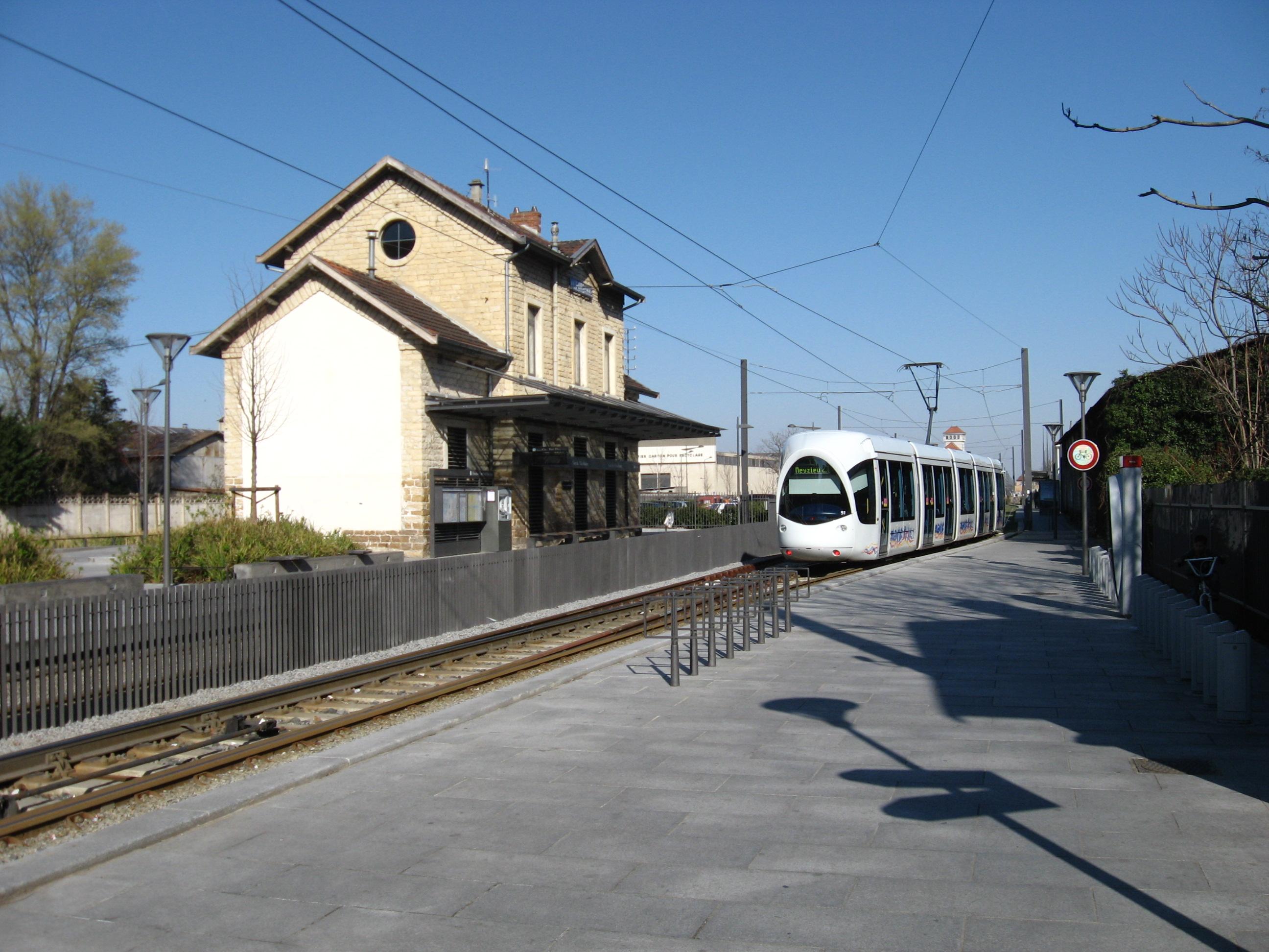 Villeurbanne for Garage du tram villeurbanne