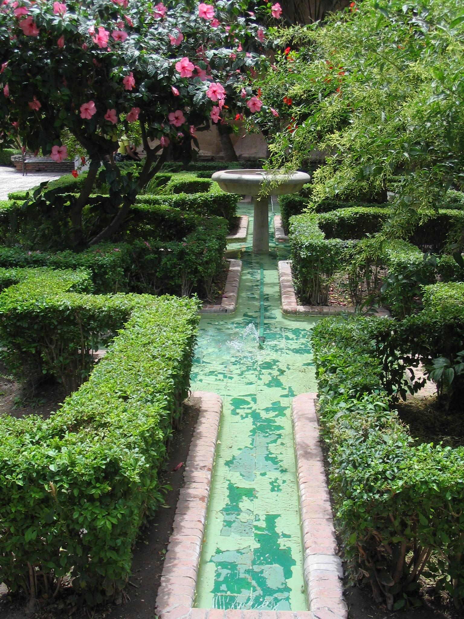 Jardin d 39 islam for Jardin spanish