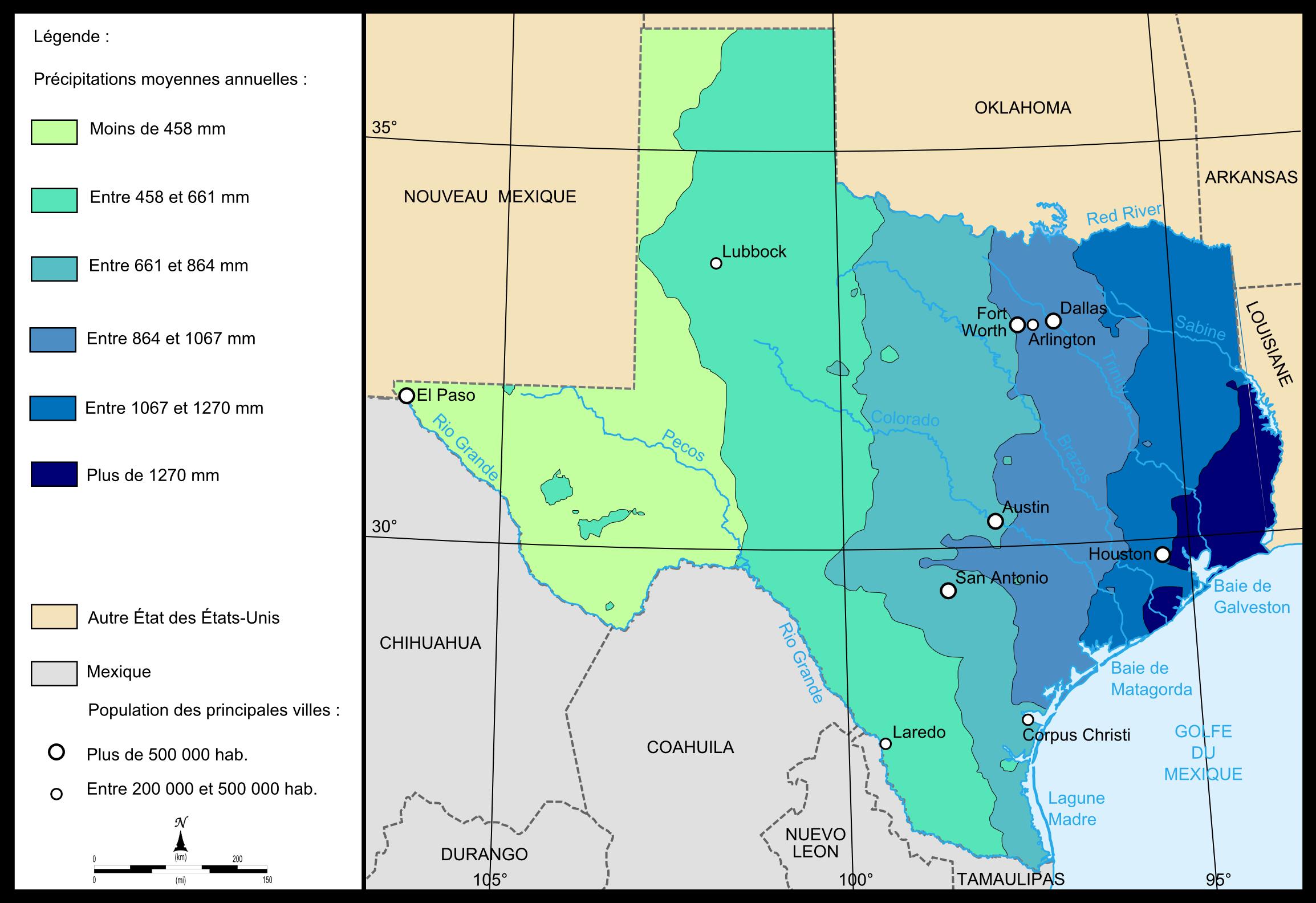 G 233 Ographie Du Texas
